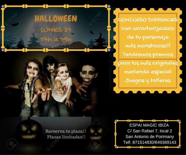 Праздник Хэллоуина в Espai Magic Ibiza