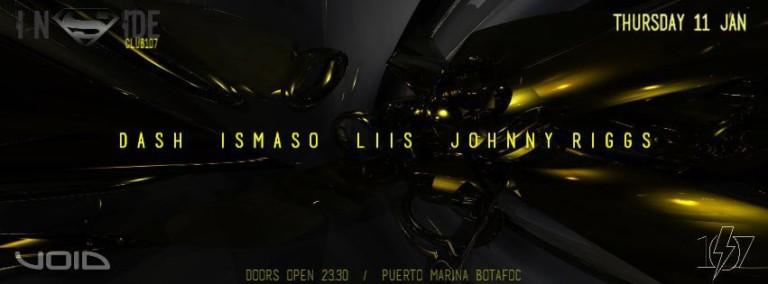 Giovedì di buona musica al Club 107 di Ibiza con Inside
