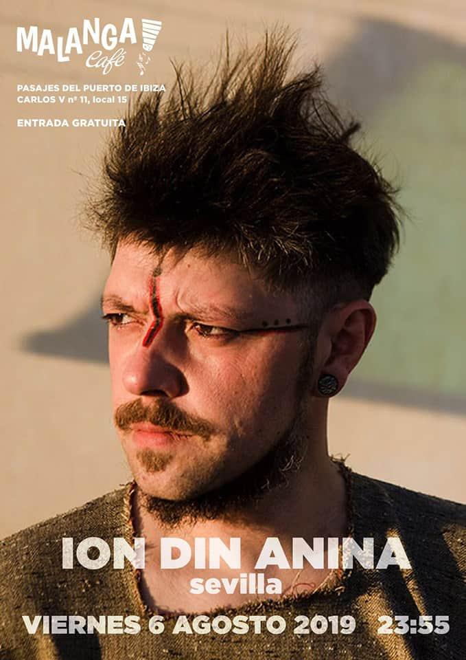 Notte con Ion Din Anina nel Malanga Café Ibiza