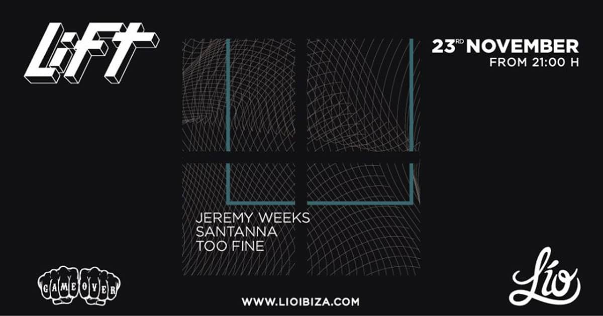 LiFT возвращается в эту субботу, чтобы поболеть за клуб Lío Ibiza