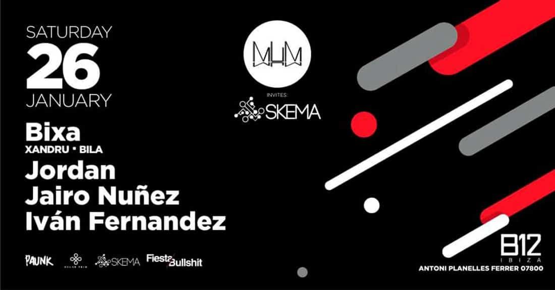 MuM invites Skema to his party on Saturday at the B12 Ibiza club