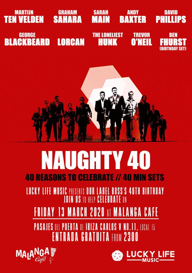 Naughty 40