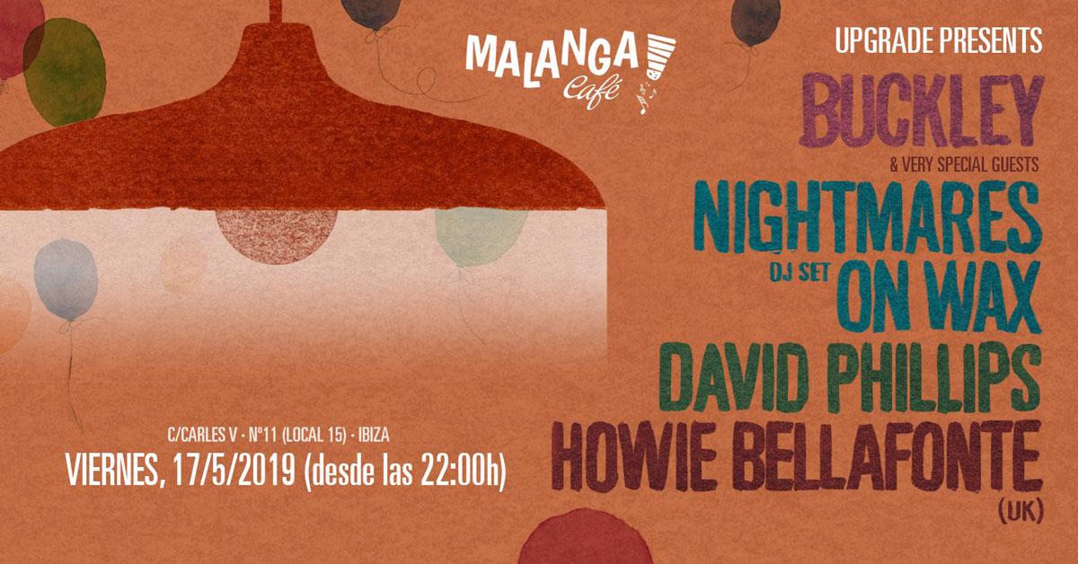 Upgrade trae a Nightmares On Wax a Malanga Café Ibiza