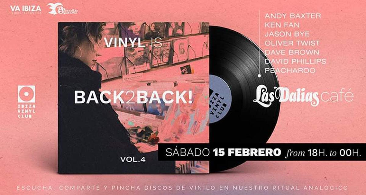 Die neue Session von Vinyl ist zurück im Las Dalias Café