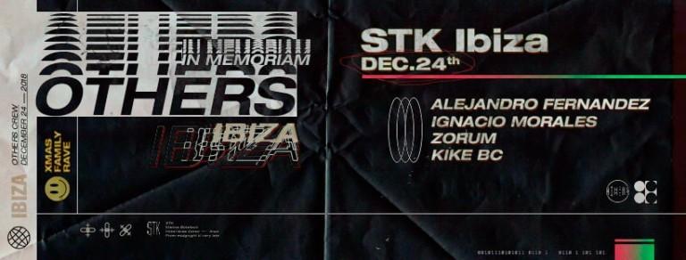 Семейный рейв XMas с другими членами экипажа на STK Ibiza