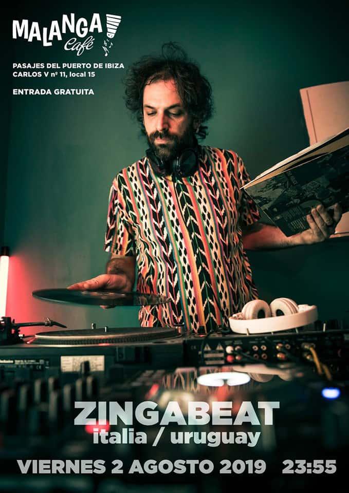 Zingabeat apporte ses sons funk et nu disco au Malanga Café Ibiza