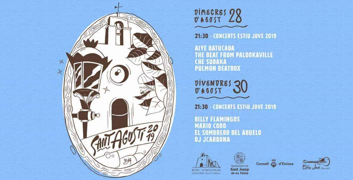 Konzerte und Aktivitäten auf den Fiestas de San Agustín