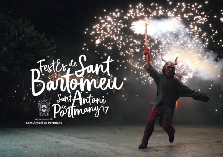 Arriben les festes de Sant Bartomeu 2017 de Sant Antoni