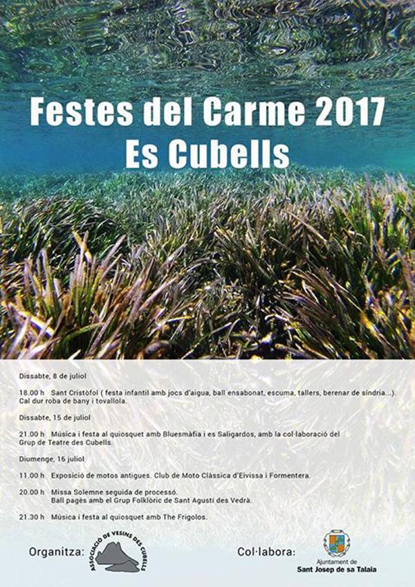 Llegan las Fiestas del Carmen 2017 al pequeño pueblo de Es Cubells