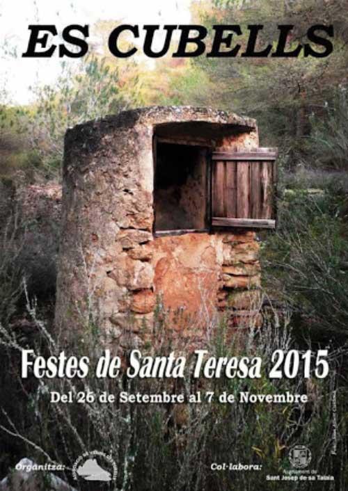 Fiestas de Santa Teresa en Es Cubells 2015