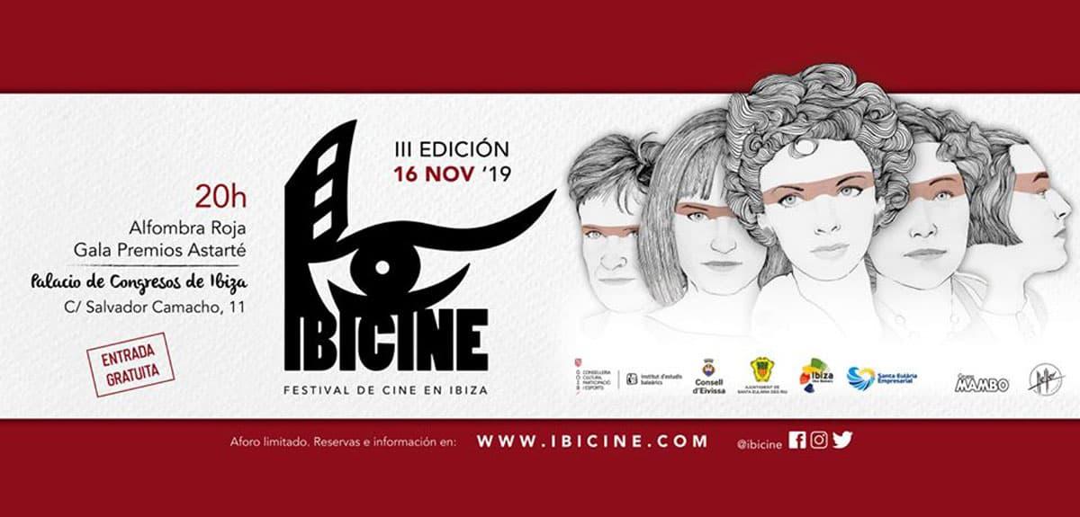 Final de la Tercera edición de Ibicine en el Palacio de Congresos de Ibiza