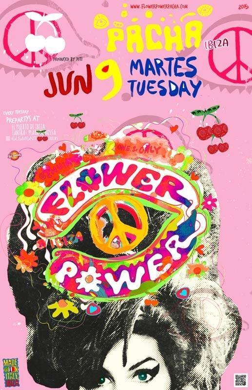 Llena tu martes de color y alegría con el Flower Power de Pacha Ibiza
