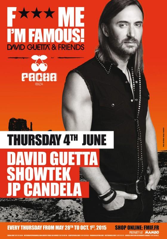 Showtek y JP Candela en F*** Me I'm Famous! en Pacha Ibiza