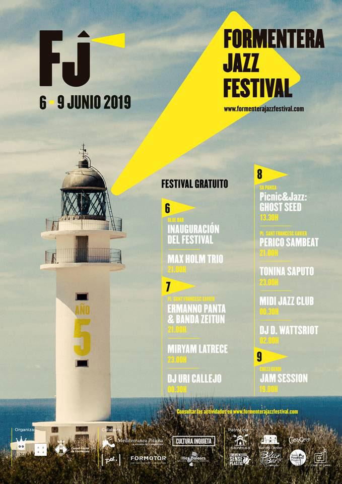 Джаз Фестиваль Форментера встречает 5 лет