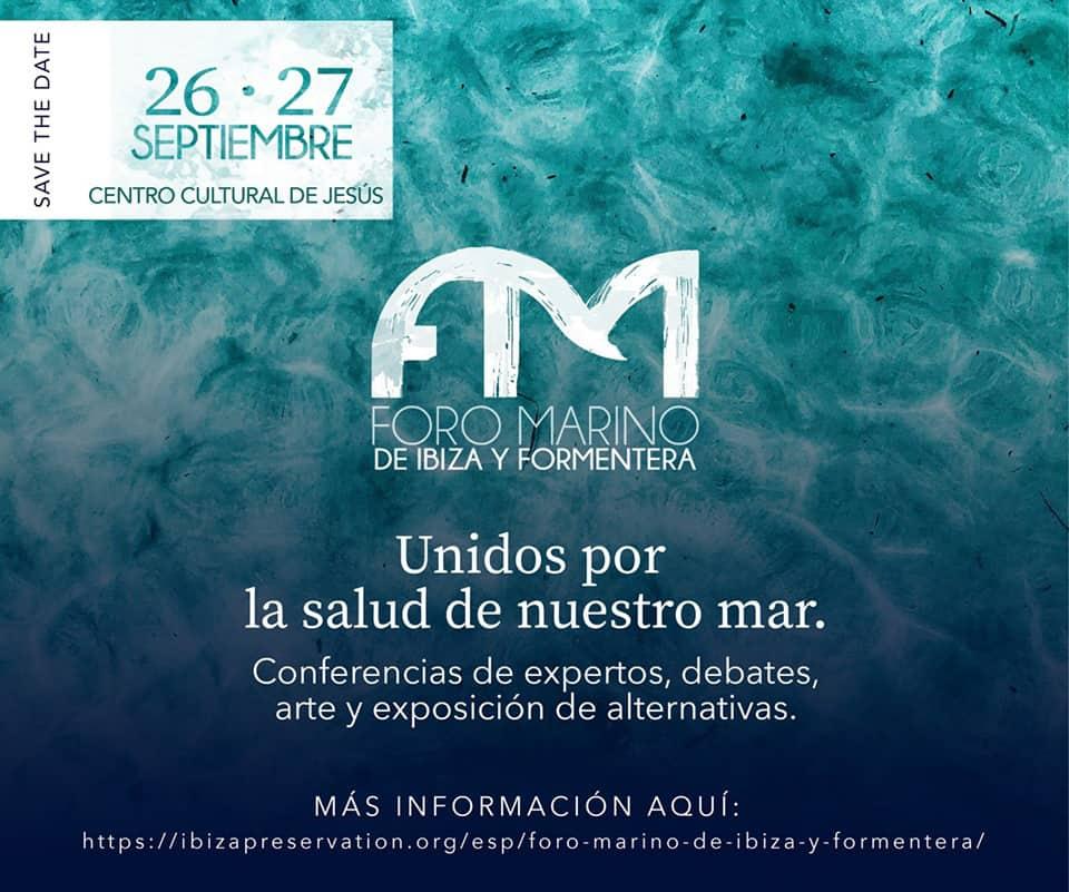 Foro Marino de Ibiza y Formentera en el Centro Cultural de Jesús
