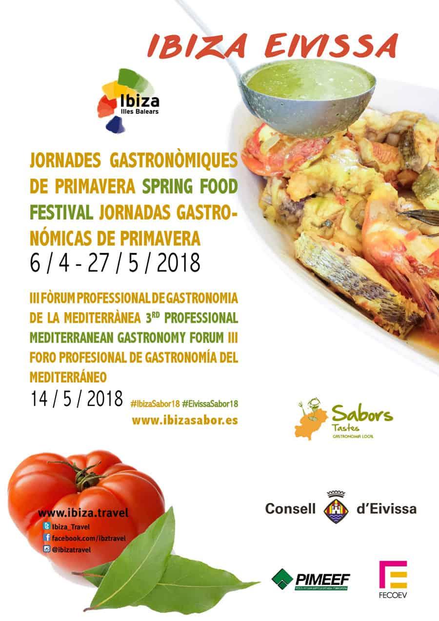 III Forum of Gastronomy in the Mediterranean in Es Náutic de San Antonio