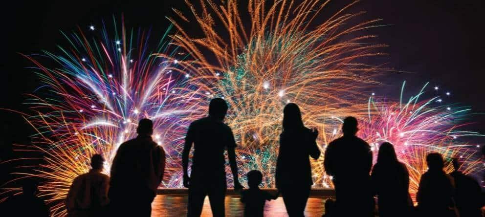 Ibiza Feuerwerk