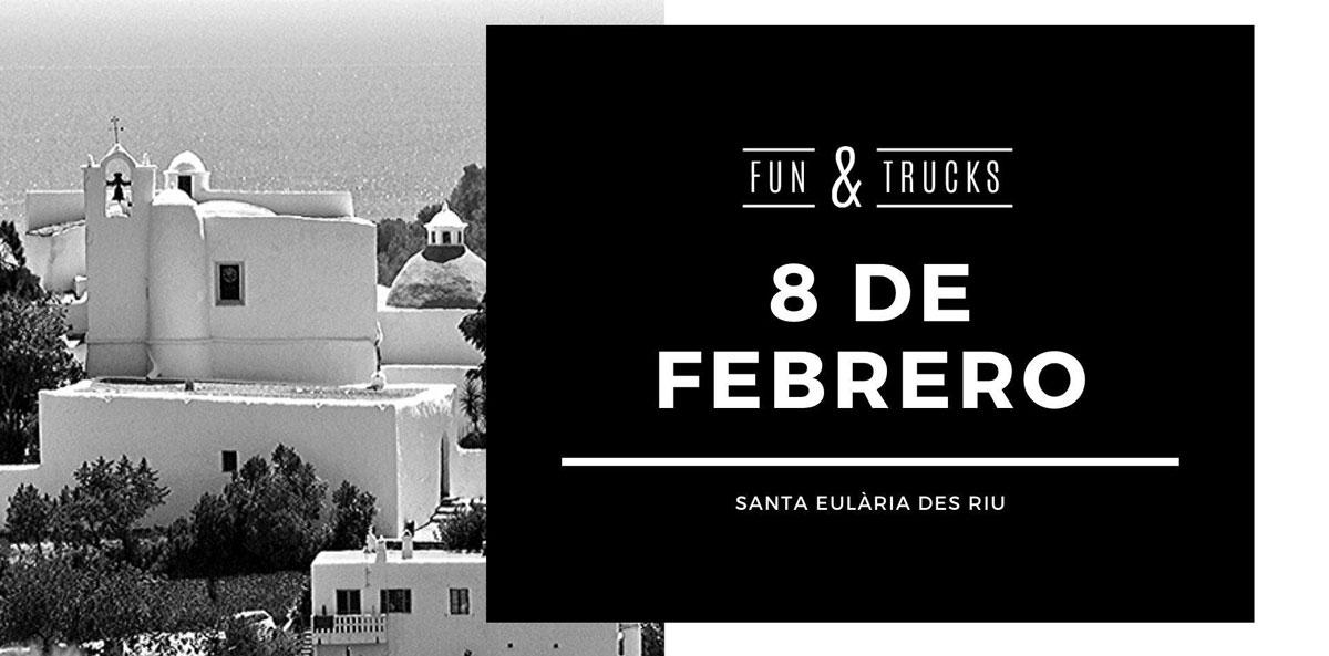 Fun & Trucks в Санта-Эулалии