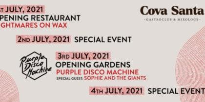 Inauguration du Cova Santa Gastroclub & Mixology Fiestas