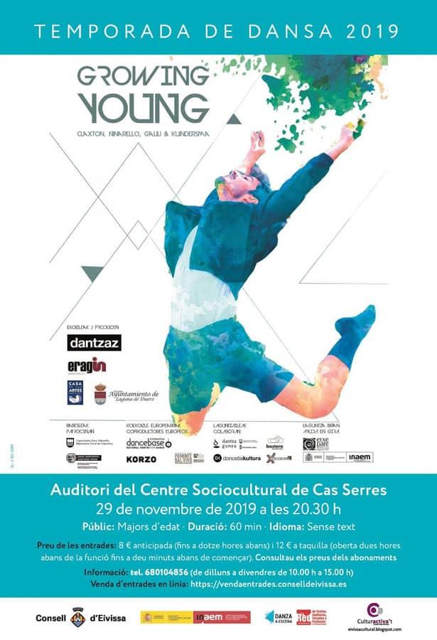 Growing Young: Temporada de Danza 2019 en Cas Serres Ibiza