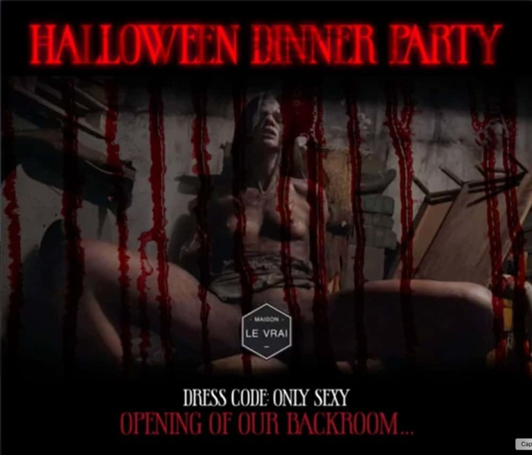 Halloween Dinner Party en Maison Le Vrai Ibiza