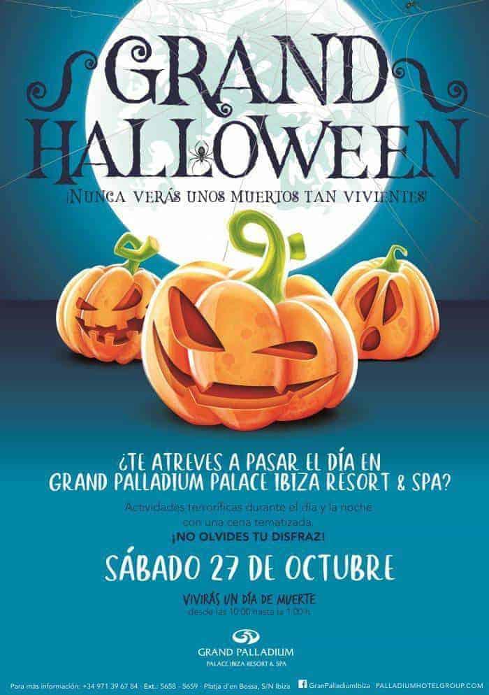 Grand Halloween: moltitudine di attività per tutti al Grand Palladium Ibiza