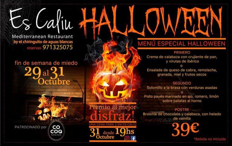 Хэллоуин выходные для детей в ресторане Es Caliu