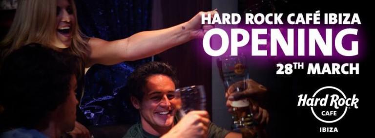 Opening of Hard Rock Café Ibiza on Thursday