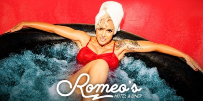 Heartbreak Hotel with Silvia Superstar at Romeo's Motel & Diner Parties