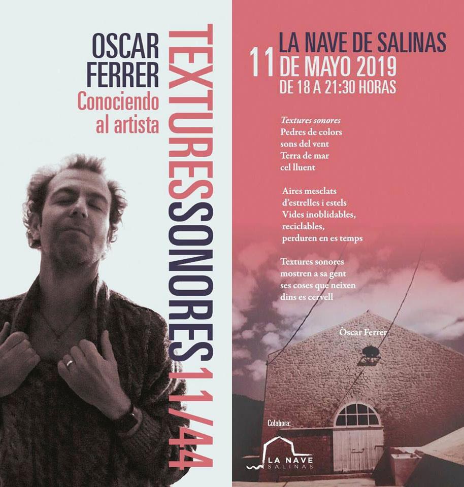 Homenaje a Óscar Ferrer en La Nave Salinas