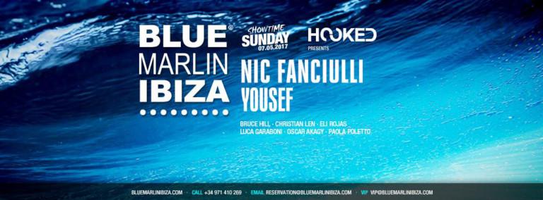 Крюк представляет Nic Fanciulli и Юсеф на Blue Marlin Ibiza