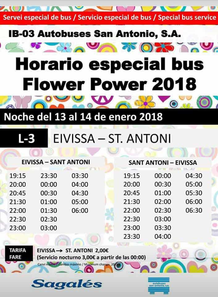 Non perdere la prima festa Flower Power di 2018!