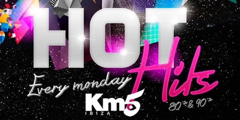Viaja al pasado con Hot Hits en Km5 Ibiza