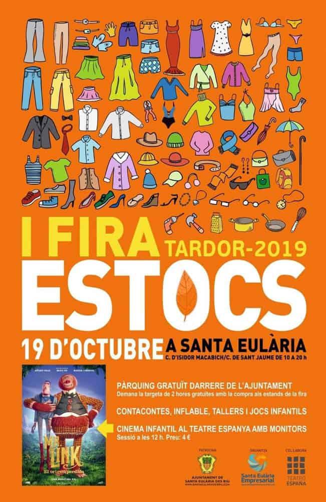 Première bourse d'automne le samedi à Santa Eulalia
