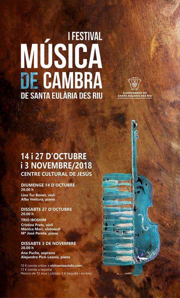 Ich Festival der Kammermusik von Santa Eulalia