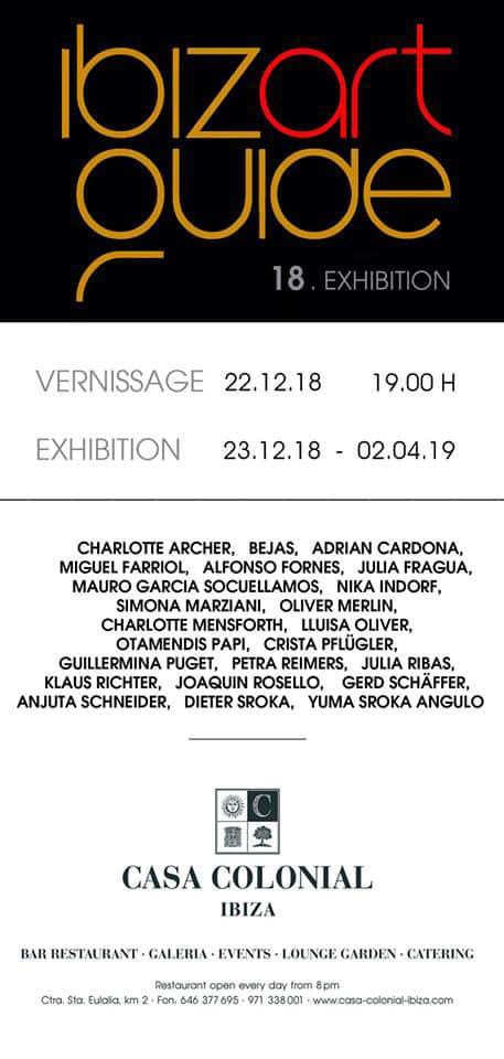 Casa Colonial Ibiza hosts a new exhibition of Ibiza Art Guide