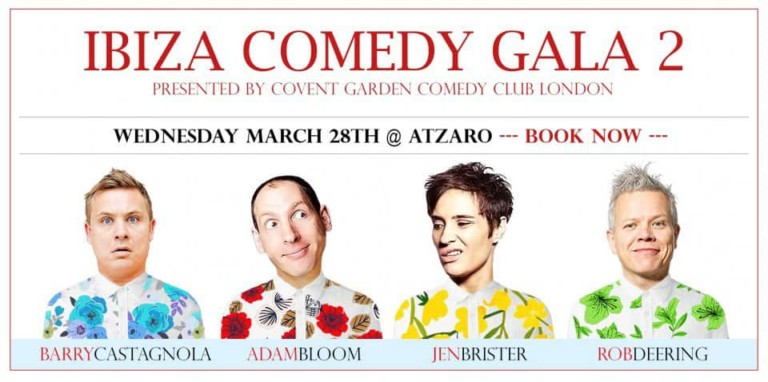 Afternoon of laughter at Atzaró Ibiza with the second British Stand Up Comedy Gala