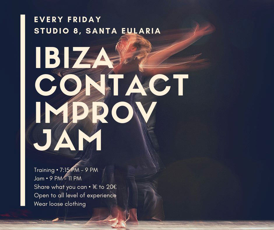 Ibiza Contact Improv Jam at Studio 8 Ibiza