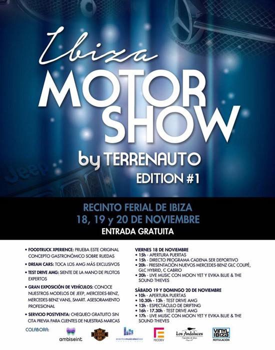 Terrenauto organizza il primo Ibiza Motorshow presso l'Ibiza Exhibition Centre