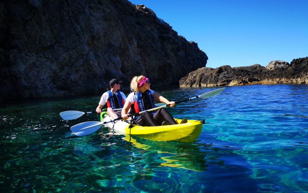 Kajakken op Ibiza Sportactiviteiten