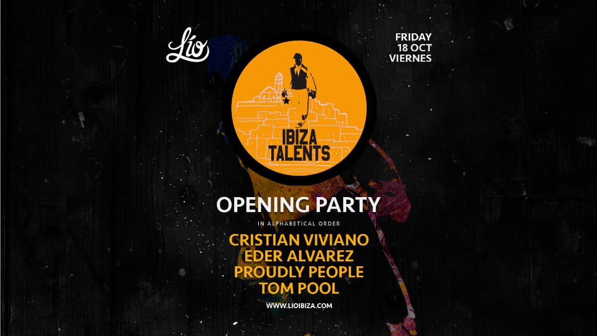 Winter Opening of Ibiza Talents at Lío Club Ibiza
