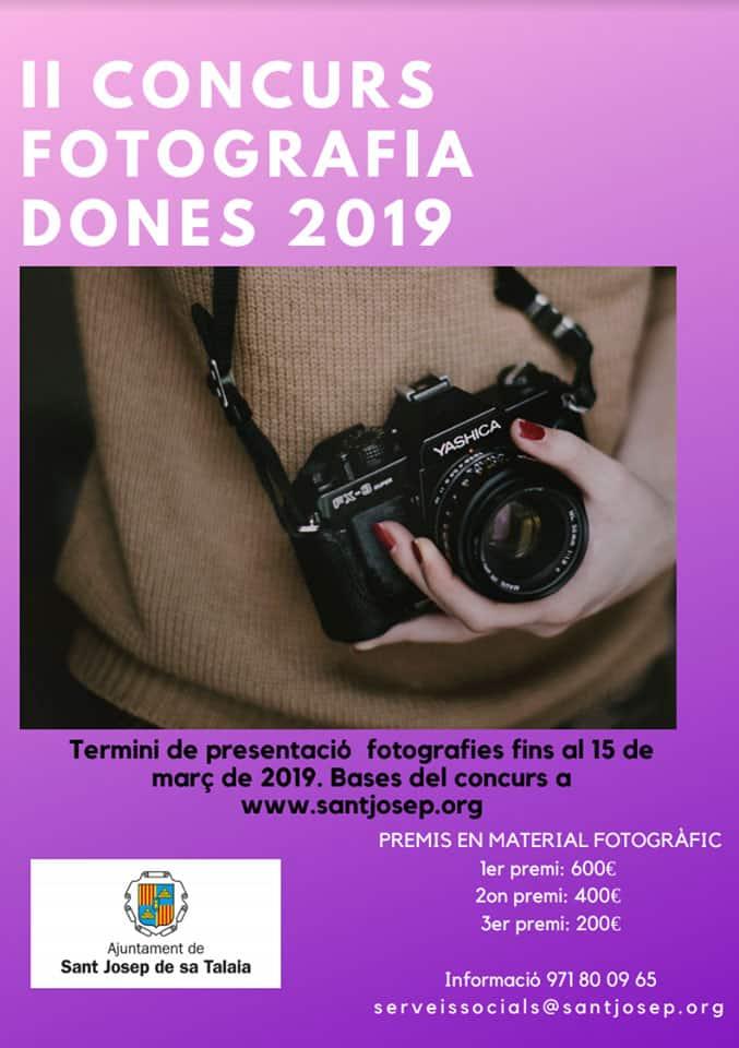II Concurs de Fotografia Dones 2019 a San José