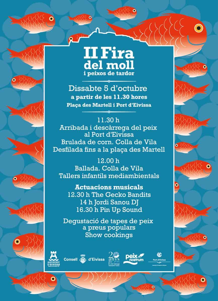 II Fira del Moll et Peixos de Tardor à Ibiza