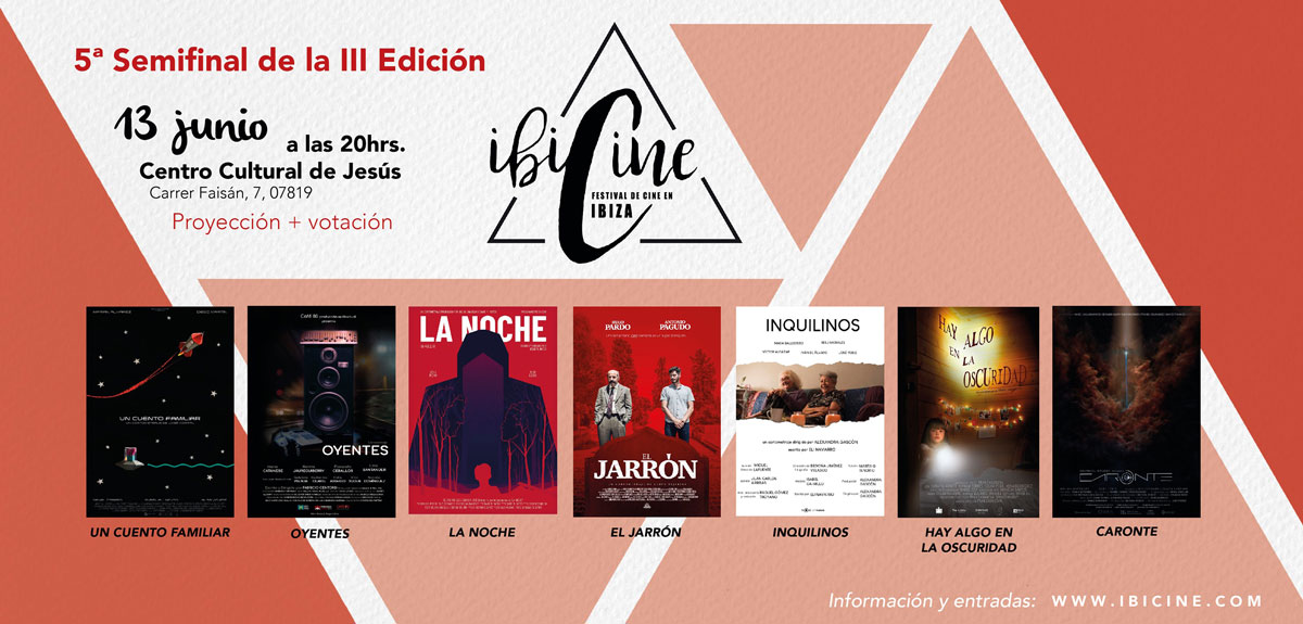 III Edition Ibicine 2019: 5ª Semifinal at the Cultural Center of Jesus