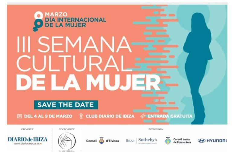 A lot of activities for the III Cultural Week of Women in Ibiza