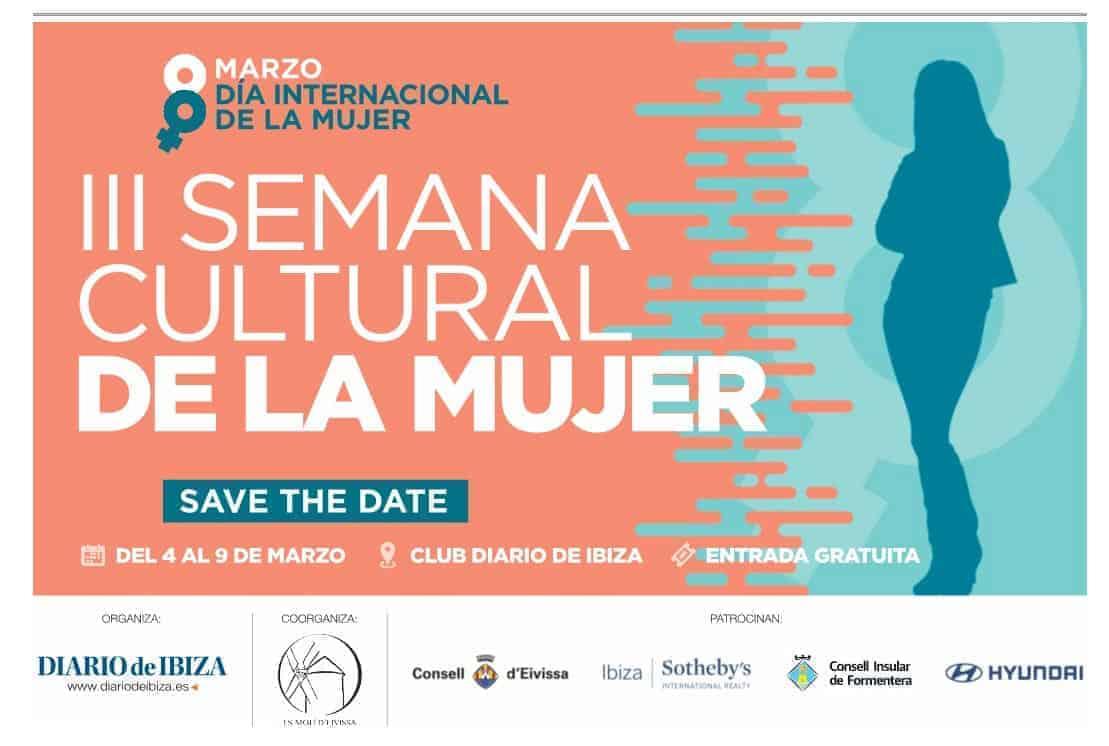 Veel activiteiten voor de III Culturele Week van de Vrouwen op Ibiza