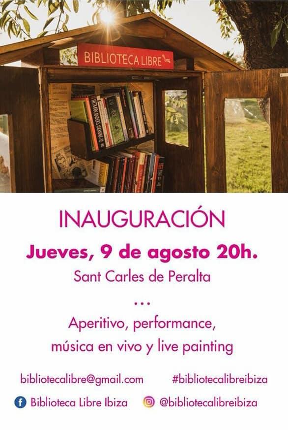 Art i música a la inauguració de la Biblioteca Lliure de Sant Carles