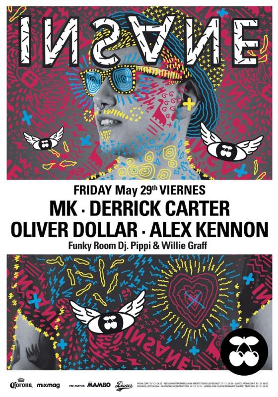 MK a los mandos de Insane este viernes en Pacha Ibiza