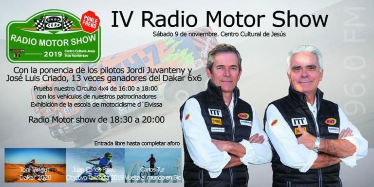 IV Radio Motor Show di Onda Cero presso il Centro Culturale di Gesù