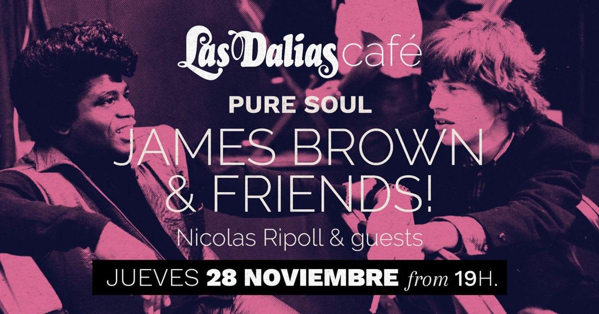 La música de James Brown inunda Las Dalias Café